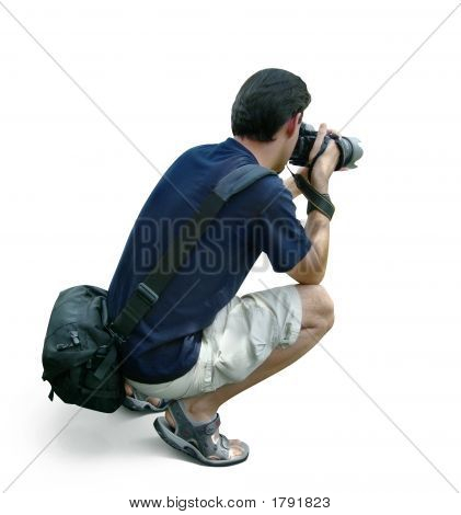 Professional Photographer Taking Pictures