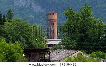 Tower In The Mountains