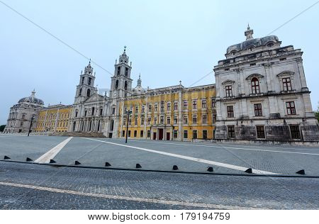 Palace Of Mafra, Portugal