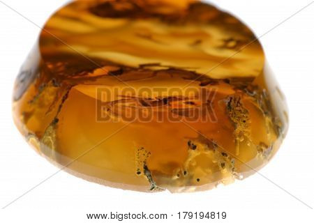 Semiprecious Stone. Amber