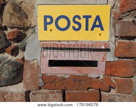 Italian Mail Box