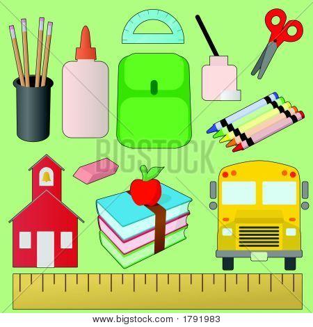 School-Design-Set.Eps