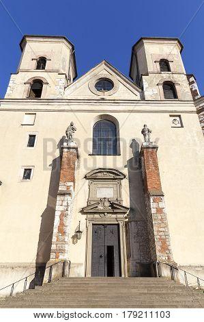 Benedictine abbey in Tyniec near Krakow Saints Peter and Paul Church Poland