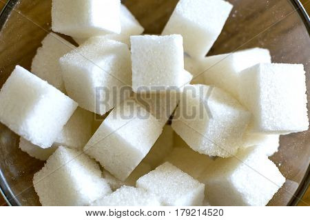 Cubes Of Refined Sugar