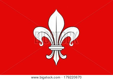 Flag of Lille it is the capital of the Hauts-de-France region and the prefecture of the Nord department in French Flanders