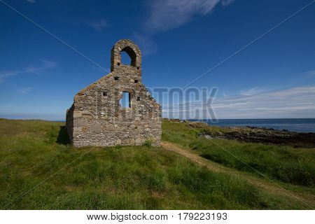 St Michael's Island on the Isle of Man