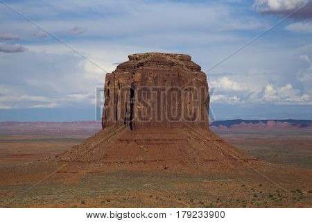 A view of Monument Valley in Utah, USA