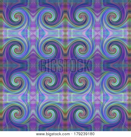 Beautiful Colorful Waves Pattern - Abstract Background. Suitable for textile fabric packaging and web design