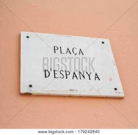 Placa d'Espanya in Palma de Mallorca