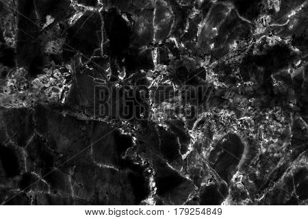 Black marble texture background, Detailed genuine marble from nature, Can be used for creating a marble surface effect to your designs or images.
