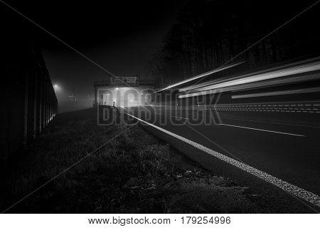 Autobahn A1 Exit Weiden