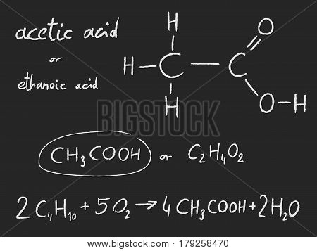 Chemical - Acetic Acid