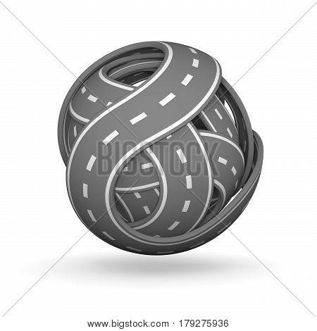 Ball Of Roads