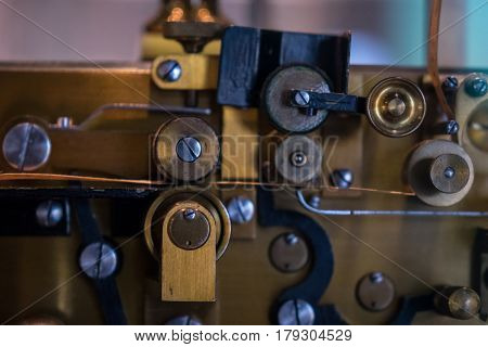 The Old And Vintage Electrical Telegraph, Morse System