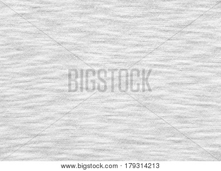 White breezy t-shirt cotton knitted fabric texture