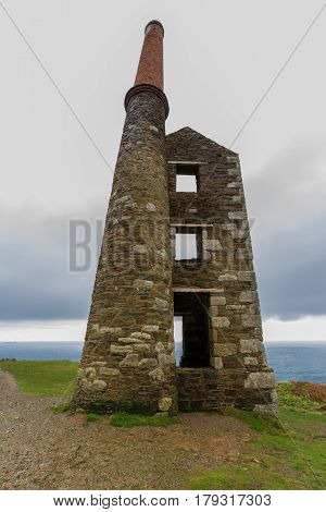 Wheal Prosper Tin Mine Beam Engine House