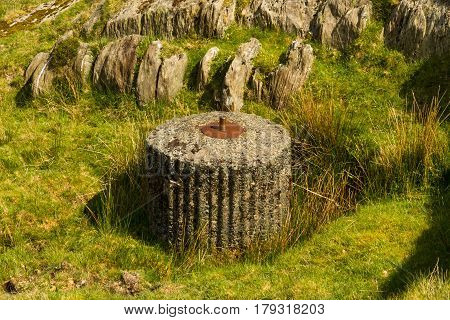 Spigot Mortar Base World War Ii.