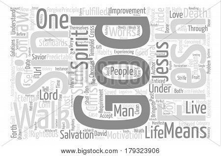 What Is The Most Important Righteous Requirement Of God s Law text background word cloud concept