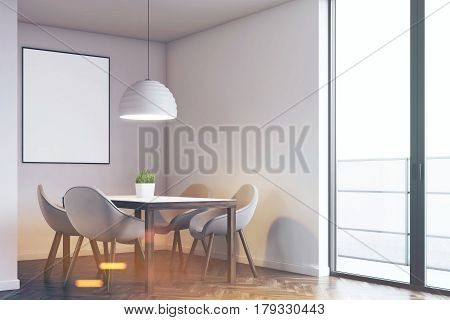 Kitchen Table And Poster, Toned