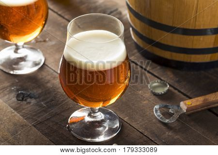 Refreshing Bourbon Barrel Aged Beer