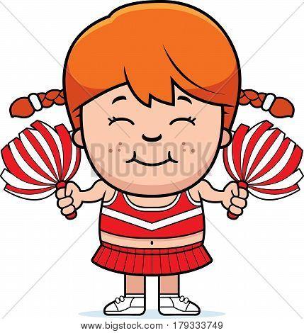 Cartoon Cheerleader Pompoms