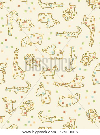 Baby Safari Pattern