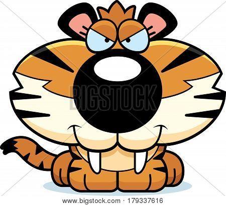 Sly Saber-toothed Tiger