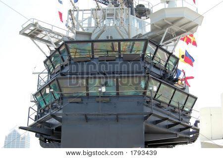 Aricraft Carrier Bridge