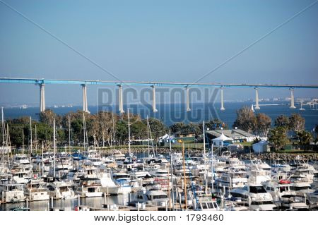 San Diego-Coronado Bridge And Boat Yard