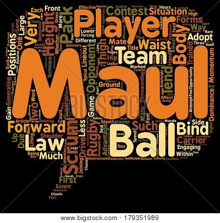 Why do rugby players scrum and maul at such different body heights text background wordcloud concept