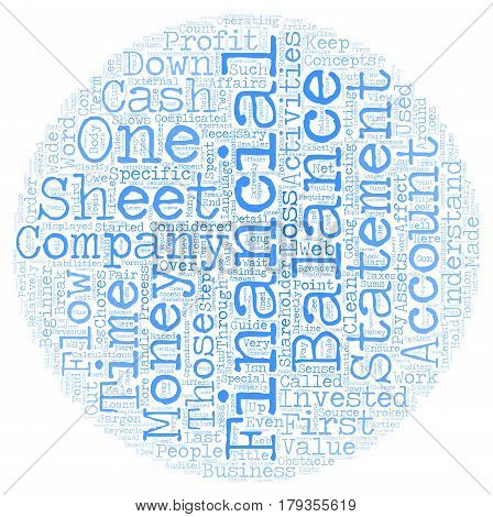 Why Financial Statements Are Important A Beginner s Guide text background wordcloud concept poster