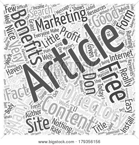 Why Haven t You Got An Article Directory Word Cloud Concept