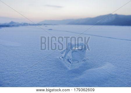 Baikal Lake. Winter Landscape