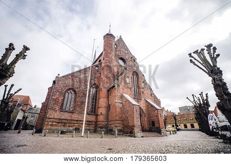 Haderslev Cathedral In Denmark