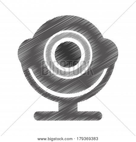 web camera isolated icon vector illustration design