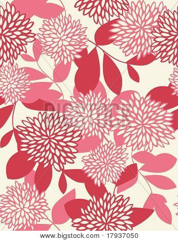 Vector Floral Pattern (seamless pattern)