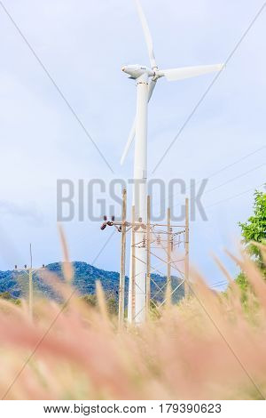 Windmill Viewpoint in Yai Nui Beach Phuket Province Thailand