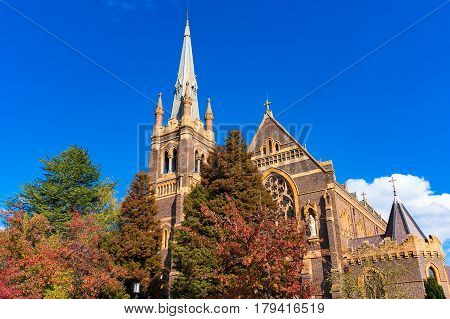 St Mary And St Josephs Cathedral In Armidale, Australia