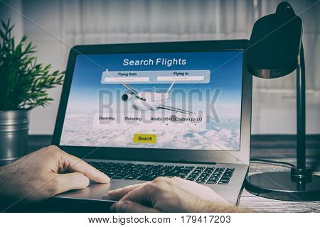 booking flight travel traveler search ticket reservation holiday air book research plan job space technology startup service professional now marketing equipment concept