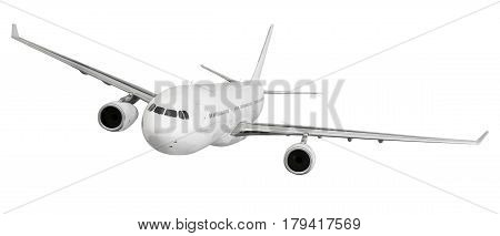 airplane aircraft transport aeroplane transportation travel traveler flight fly air plane trip jet business isolated white background concept