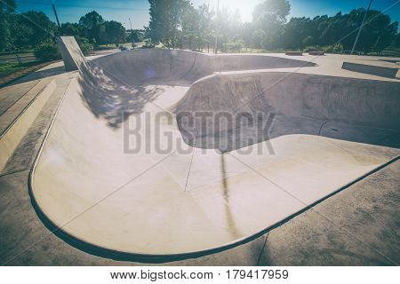 skating skate park skatepark design skateboard skateboarding empty concrete