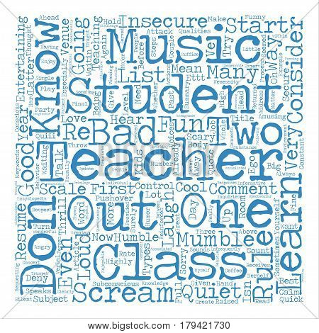 Cool Teachers Rule With Cool Teacher s Rules text background word cloud concept