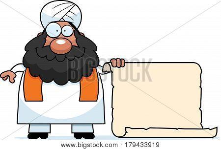 Cartoon Sikh Sign