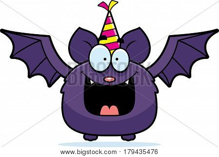 Cartoon Bat Birthday Party