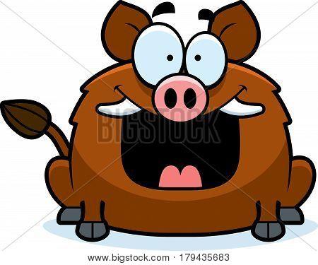 Happy Little Boar