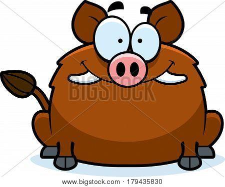 Smiling Little Boar