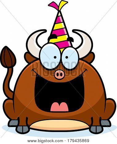 Cartoon Bull Birthday Party