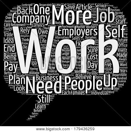 Do You Have A Back Up Plan Word Cloud Concept Text Background