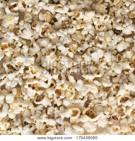 Popcorn Background Or Texture