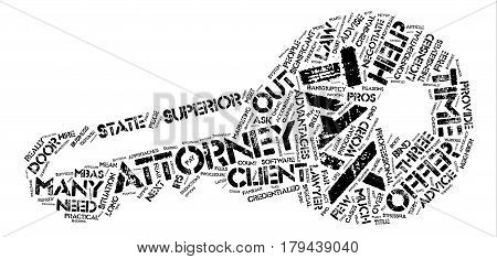 Three Reasons To Hire A Tax Attorney text background word cloud concept